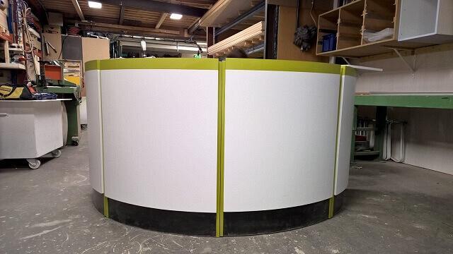 Freesmachine zorgt voor verkorting productieproces standbouw
